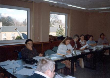Grupo de Trabajo sobre la Mujer frente a la Discapacidad del European Disability Forum, Londres, 1998.